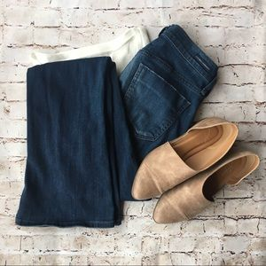 Citizens of Humanity | flare dark wash denim jeans